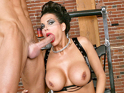 Busty MILF Mominatrix's Hot Throat fuck