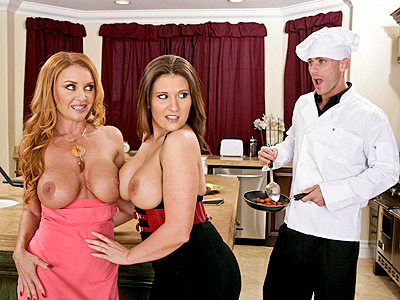 MILF Janet Mason Screwing the Chef